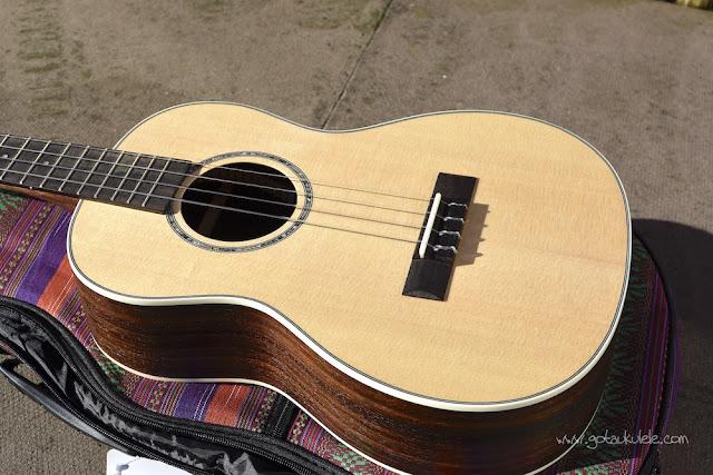 Ohana BK-70 Baritone ukulele body