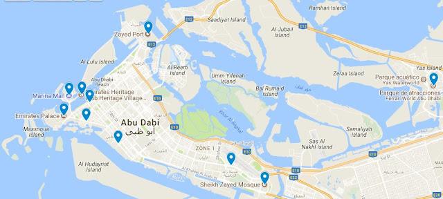 puntos de interés abu dhabi