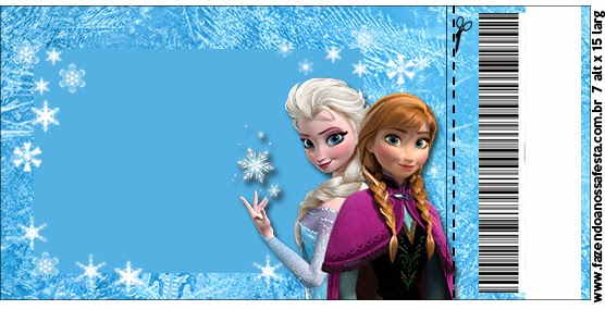 Frozen Free Printable Cards or Party Invitations Oh My Fiesta