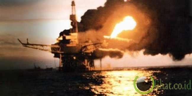 Piper Alpha Oil Rig - $ 3,4 Miliar