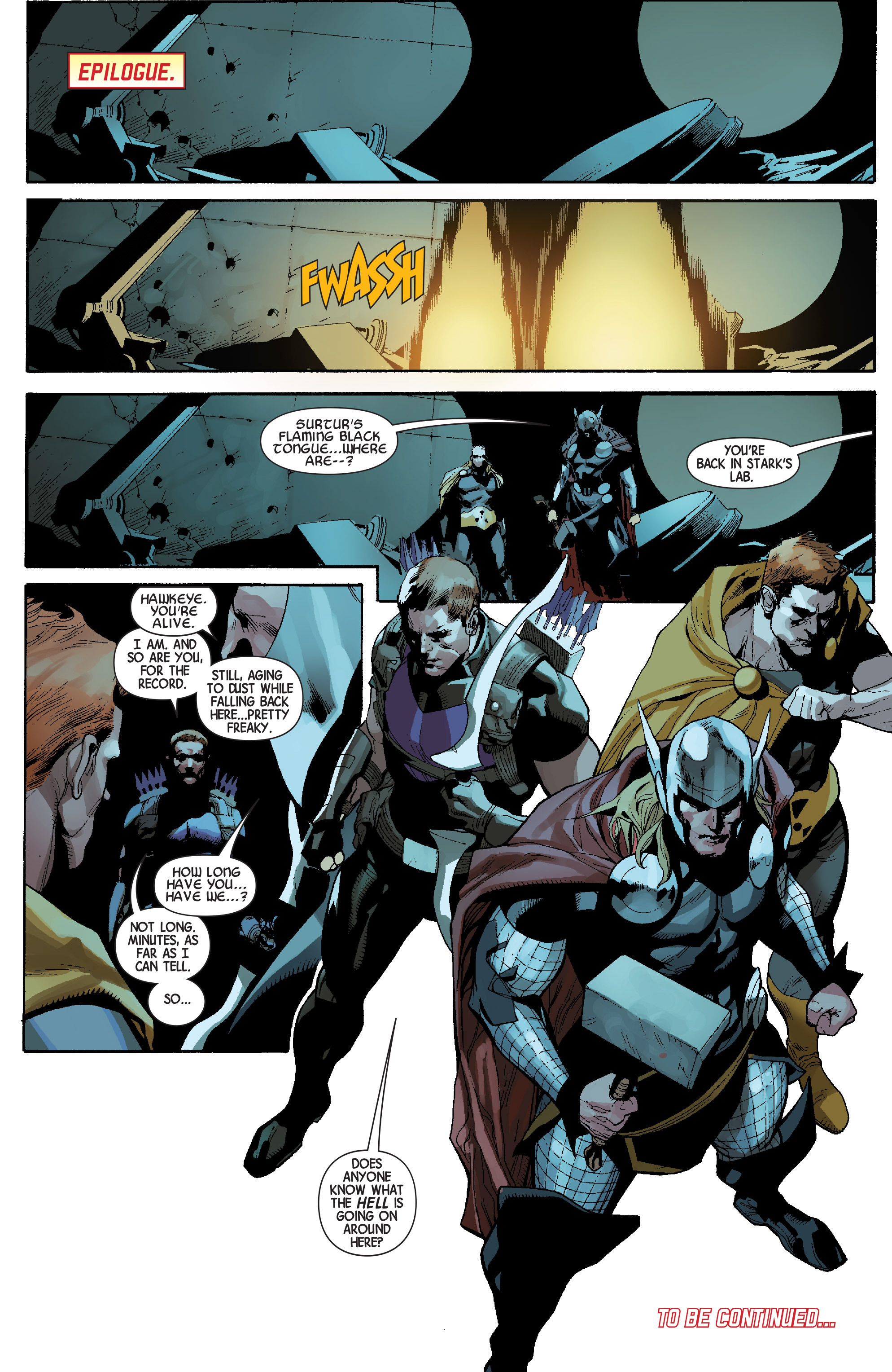 Read online Avengers (2013) comic -  Issue #31 - 23