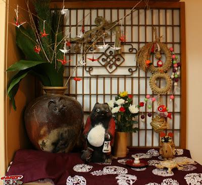 正月玄関飾り