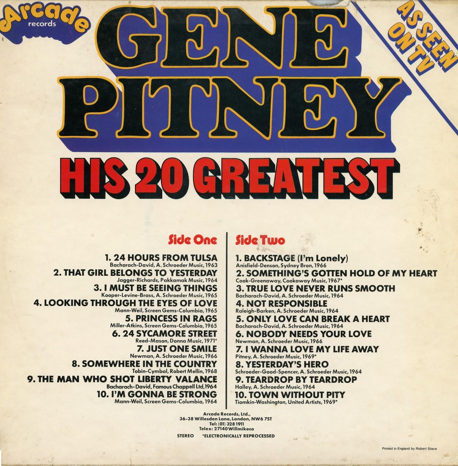 Luigi S 50 S Amp 60 S Vinyl Corner Gene Pitney 320 Kbps