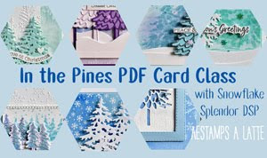 In the Pines Card Class