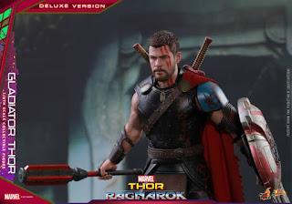 Thor 1/6 Gladiator Deluxe Version de Thor Ragnarok - Hot Toys