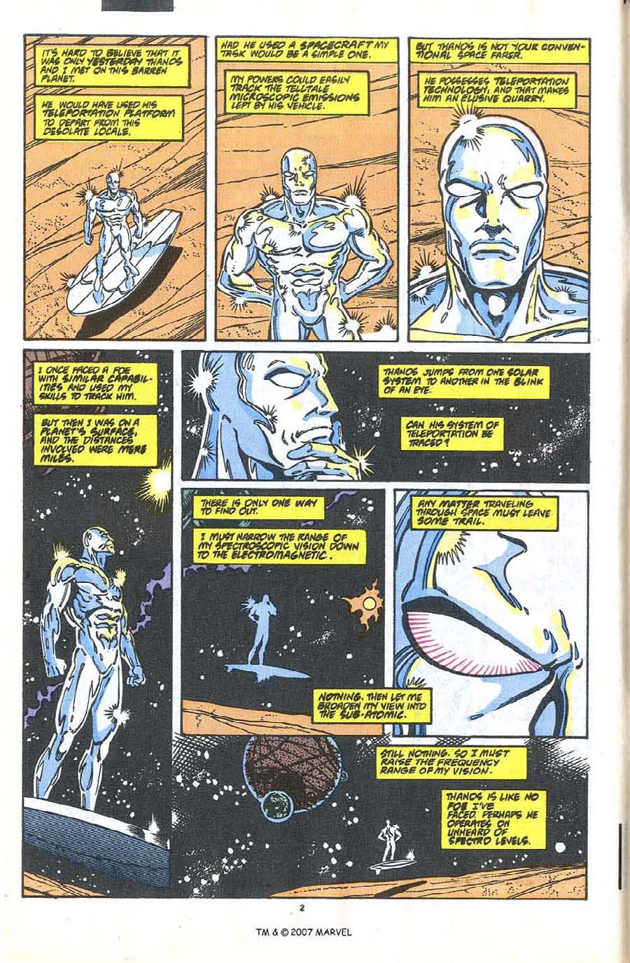 Read online Silver Surfer (1987) comic -  Issue #37 - 4