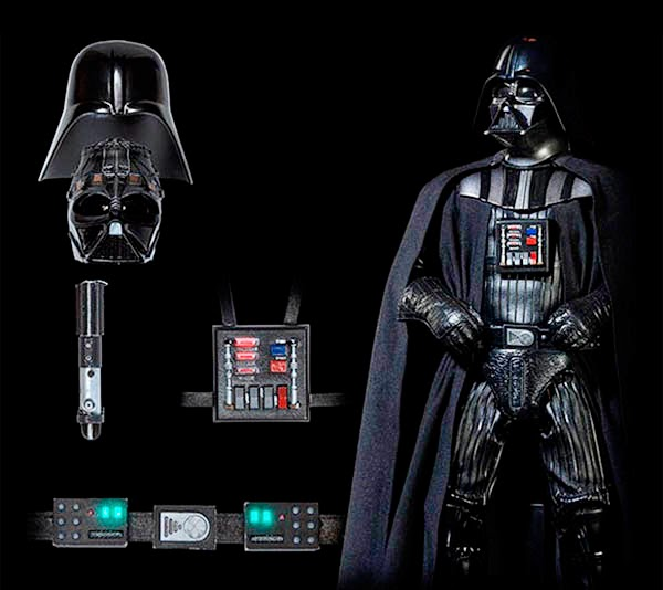 Controles soporte Vital Darth Vader