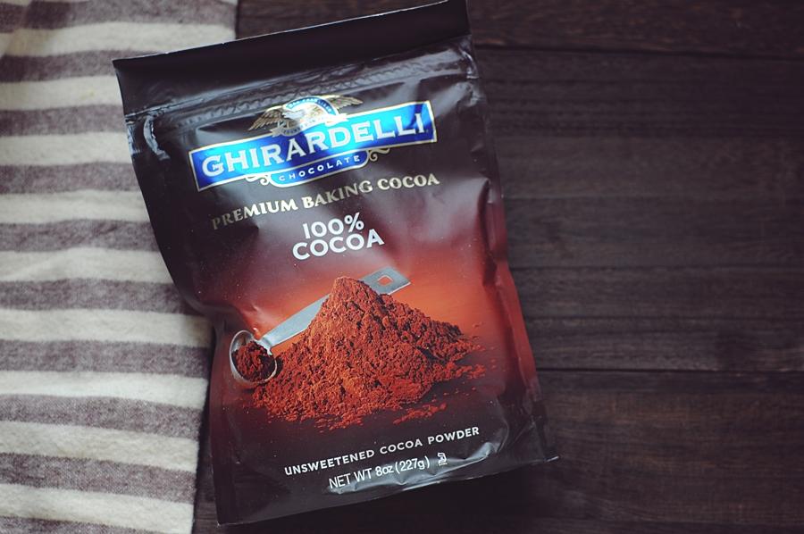 Ghirardelli 100% cocoa