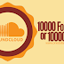 Buy 10000 SoundCloud Followers/Likes