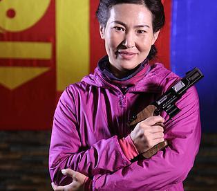 Mongolian sports shooter Отрядын Гүндэгмаа