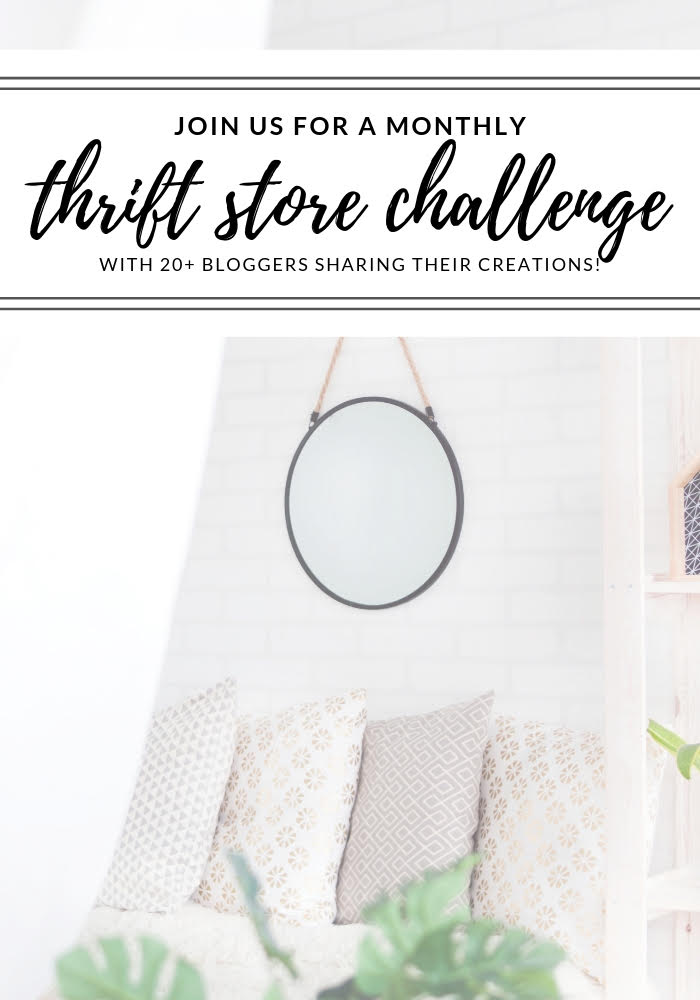 Thrift Store Upcycle Challenge