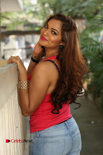 Tollywood Actress Ashwini Latest Stills in Ripped Jeans  0136.JPG
