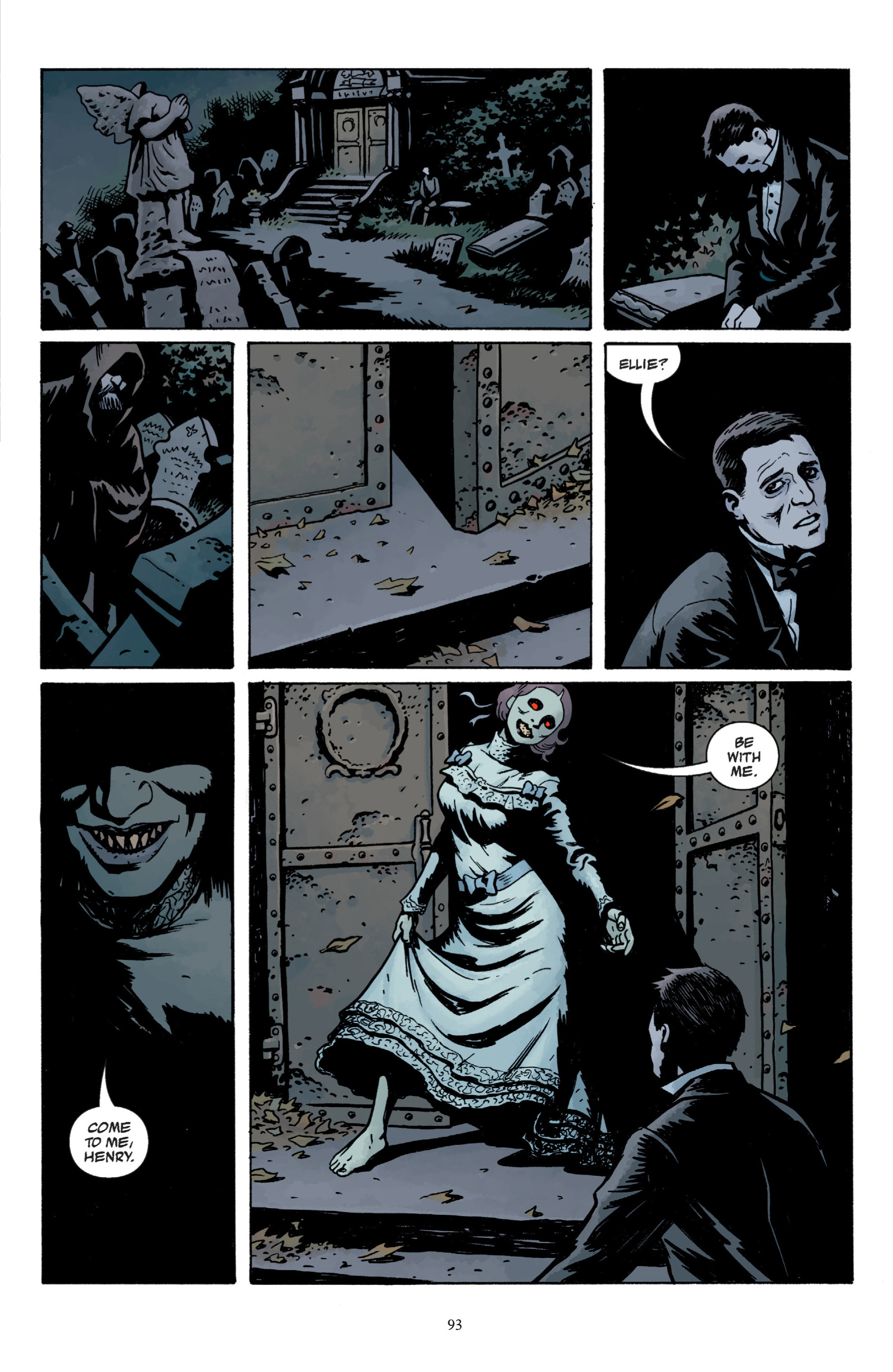 Read online Baltimore: The Plague Ships comic -  Issue # TPB - 93