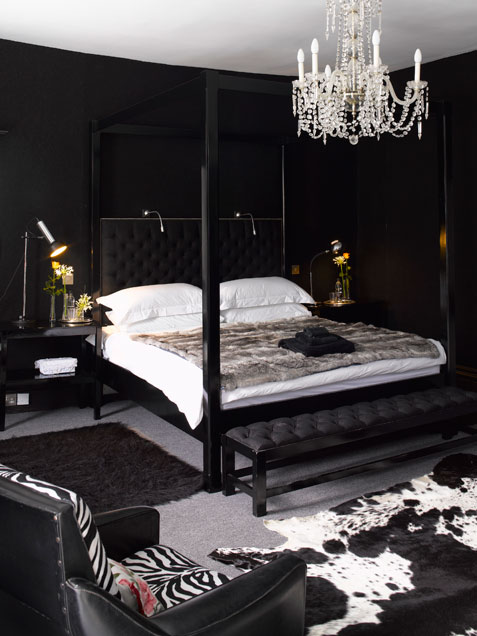 My Aesthetica: Black bedroom continued - Bedroom Black And White