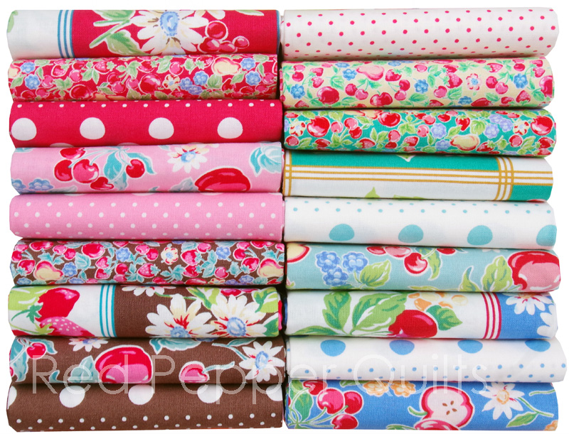 Orchard Kitchen by Lecien   © Red Pepper Quilts 2018