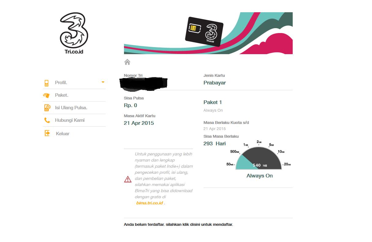 Tri Kuota 80mb Daftar Update Harga Terbaru Dan Terlengkap Indonesia Kartu Perdana Paket Data Mix 225gb Cara 3