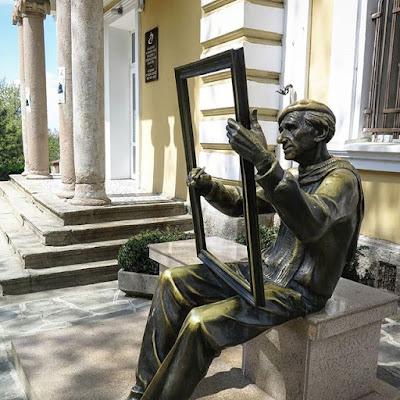 Otra estatua en Plovdiv, Bulgaria