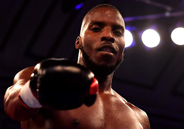 Lawrence Okolie Stops. Shawn Miller In Four Rounds