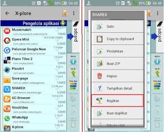 Cara Kirim Aplikasi Android via Bluetooth