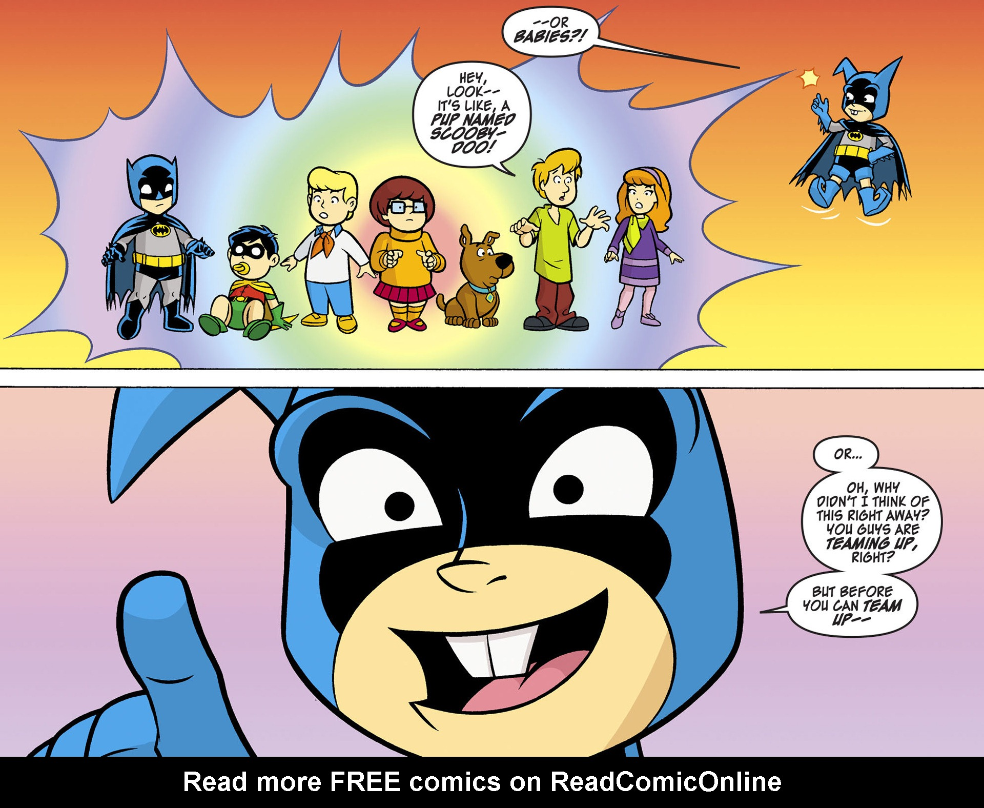 Read online Scooby-Doo! Team-Up comic -  Issue #5 - 12