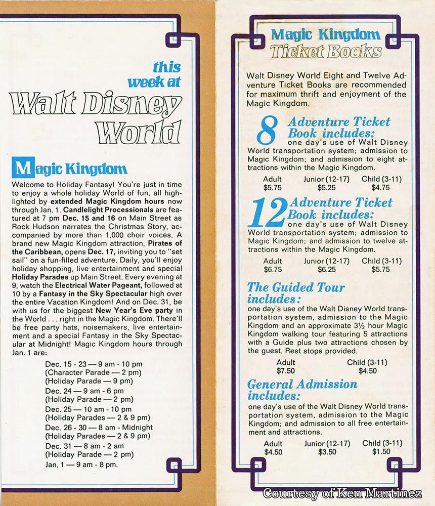 walt disney world brochure pdf