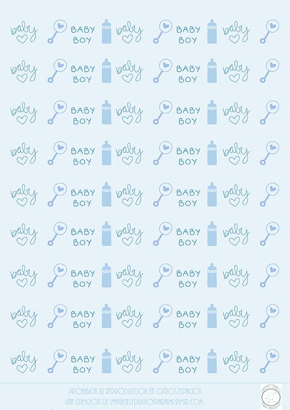 papel para imprimir de bebes
