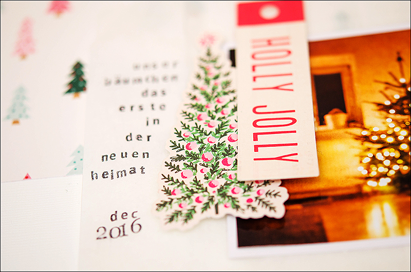 Stephanie Berger - Scrapbooking - Dani Peuss - Christmastree