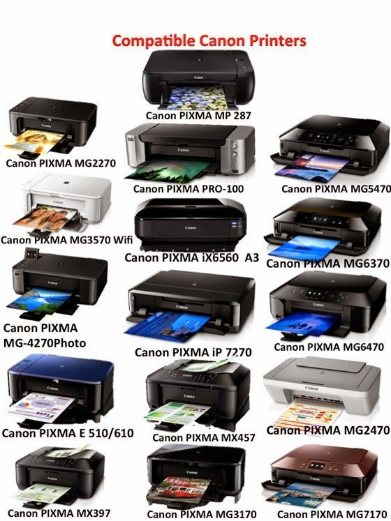 Ink Tank for Canon Pixma Inkjet Colour Printers Esyink tank