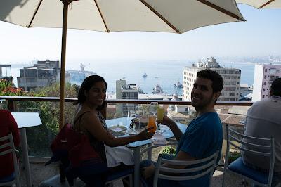 la concepcion restaurante vista valparaiso