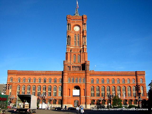Rotes Rathaus, sede da Prefeitura de Berlim