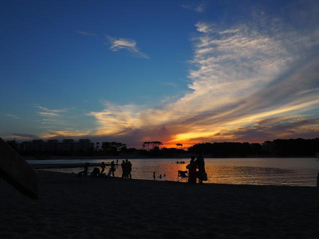 Sonnenuntergang Punta del Este