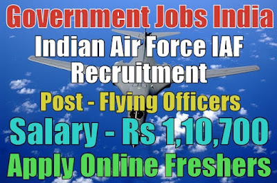Indian Air Force Recruitment IAF 2019