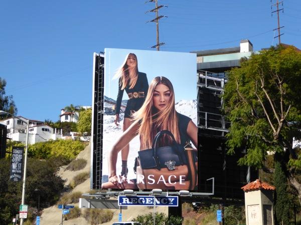 Versace Spring 2016 billboard