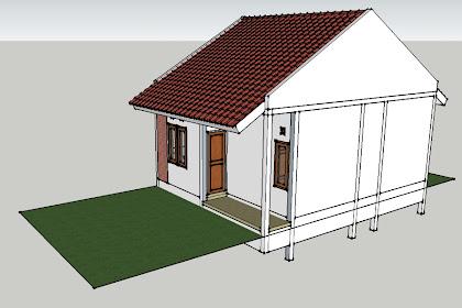 Desain Rumah Minimalis Sederhana 6m ×7,5 m akhirnya selesai juga
