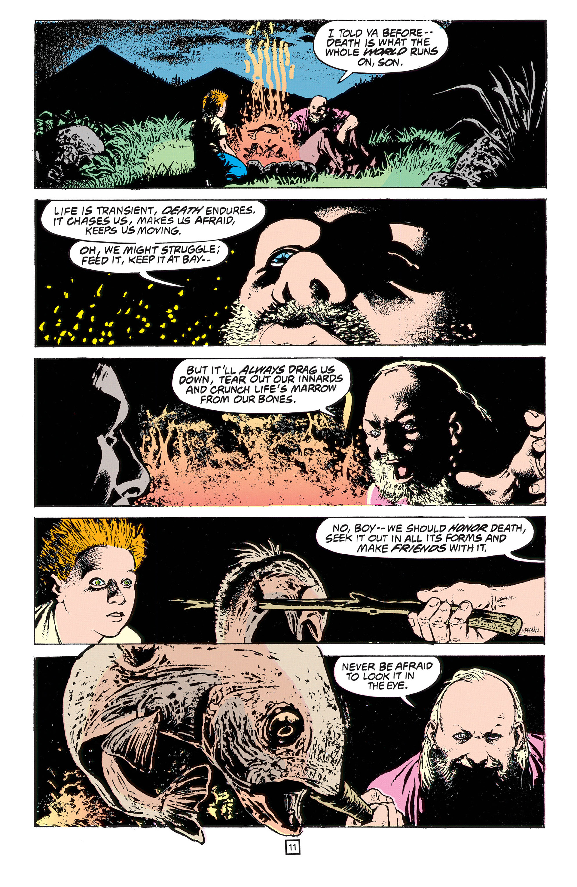 Read online Animal Man (1988) comic -  Issue #53 - 12