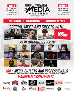 Media Matters Soundstage, Makin' It Magazine, MediaMattersATX, MMATX2018, SXSW, Hip Hop Everything,