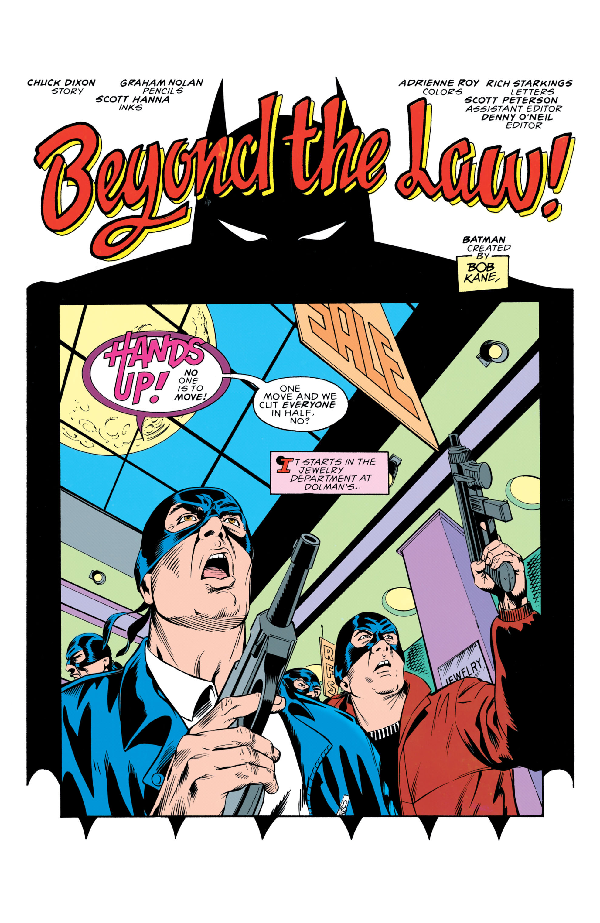 Detective Comics (1937) 652 Page 1