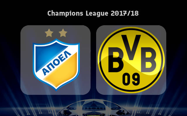 APOEL Nicosia vs Borussia Dortmund Full Match & Highlights 17 October 2017