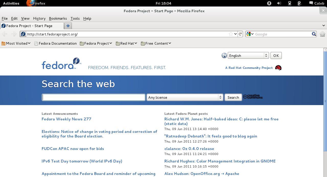 GNOME 3 (Fedora 15) vs  Unity (Ubuntu 11 04) | Caleb's Computer Blog