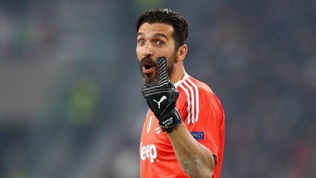 """بوفون يصف حكم مباراة ريال مدريد ويوفنتوس بـ """" الحيوان """""""
