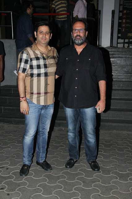 Ajay kapoor with Director Anand Rai at the Screening of Short Film RAAKH