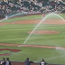 Indians-Reds spring training game delayed as sprinklers turn on (Video)