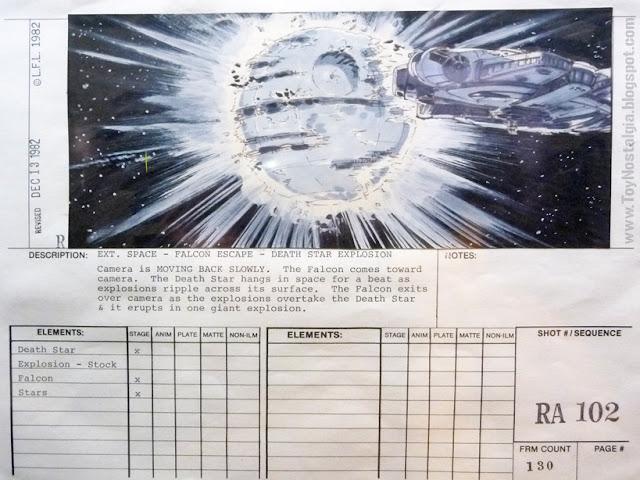 """Ficha técnica de Escena  """"Episodio VI - The Return Of the Jedi""""  (STAR WARS - The Exhibition)"""