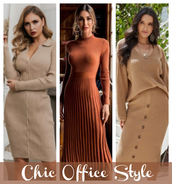 Effortlessly Chic Fall Style For The Office.