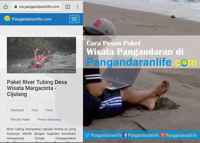 Cara Memesan Paket Wisata Pangandaran di Pangandaranlife.com