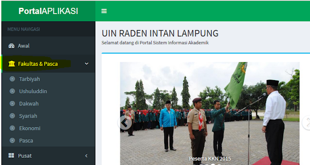 Cara Masuk Siakad UIN Raden Intan Lampung