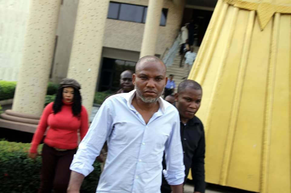 We don't want bail for Nnamdi Kanu, we want his total freedom - IPOB tells Buhari