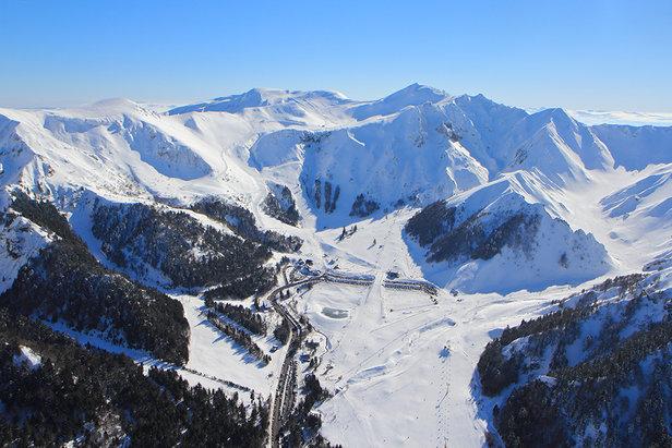 Esquiar em Le Mont-Dore