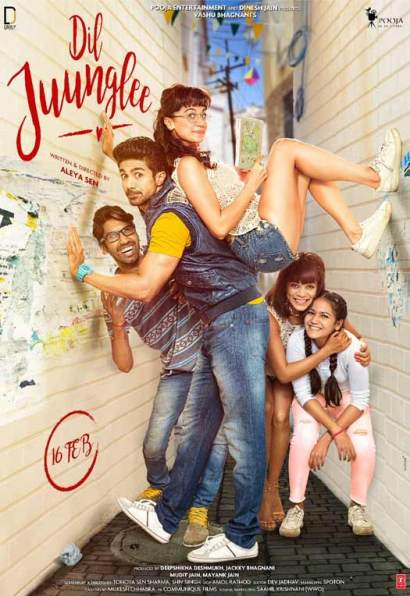 full cast and crew of Bollywood movie Dil Juunglee 2018 wiki, Saqib Saleem, story, release date, Dil Juunglee Actress Taapsee Pannu poster, trailer, Video, News, Photos, Wallapper