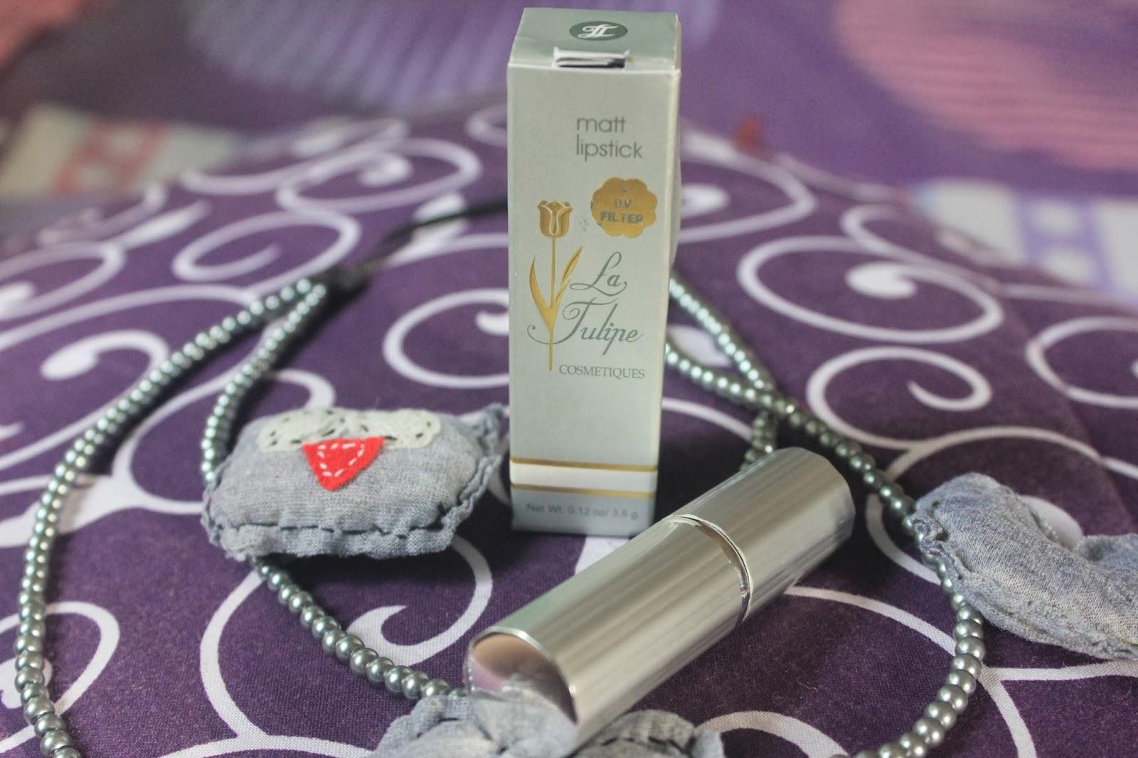 Y for Young: Review Matte Lipstick - La Tulipe